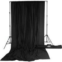 Savage Accent Muslin Background Kit (10 x 24', Black)