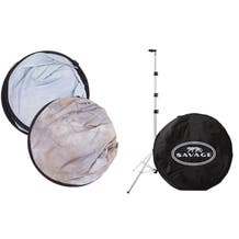 """Savage Collapsible Stand Kit (60 x 72"""", Spring Essence)"""