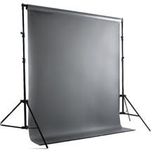 Savage Port-a-Stand and Vinyl Background Kit (Gray)