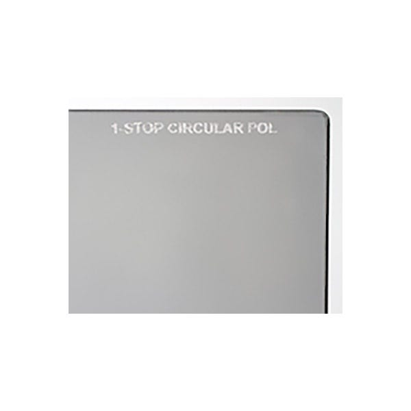 "Schneider Optics 5.65 x 5.65"" One Stop Circular Polarizer Square Filter"