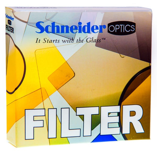 "Schneider Optics 4 x 5.65"" Graduated Neutral Density (ND) 1.2 Water-White Glass Filter - Soft Edge with Vertical Orientation"
