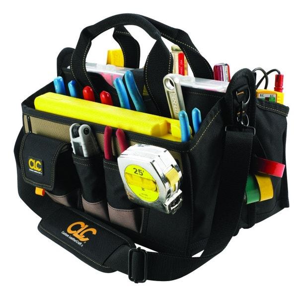"""CLC 16 Pocket 16"""" Center Tray Tool Bag"""
