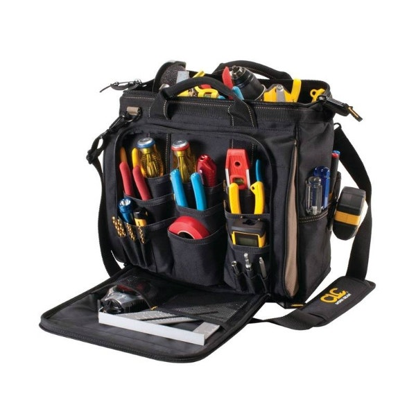 """CLC 13"""" 30 Pockets Multi-Compartment Tool Carrier"""