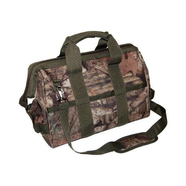 "Bucket Boss 16"" Camo Gatemouth Tool Bag"