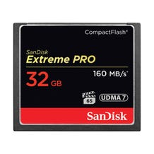 SanDisk Extreme PRO 32GB CompactFlash Memory Card