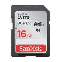 SanDisk Ultra SDHC Class 10 Memory Card (Various Memory Capacities)