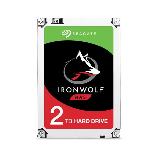 Seagate 2TB IronWolf NAS SATA 6Gb/s Internal Hard Drive
