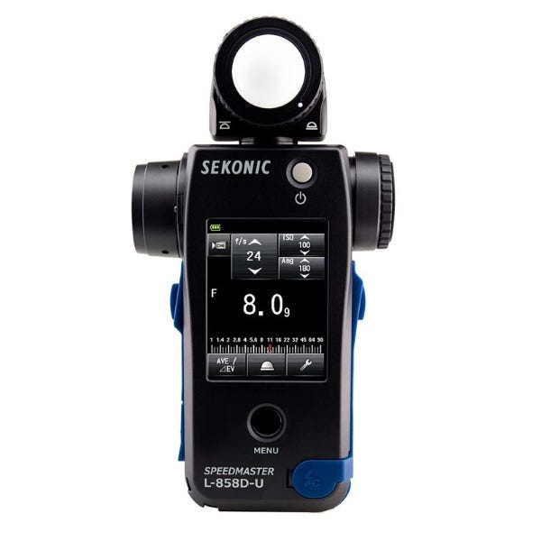 Sekonic L-858D-U Speedmaster Light Meter