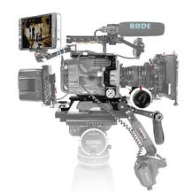 SHAPE Baseplate Cage Follow Focus For Sony PXW-FX9 Professional Video Camcorder