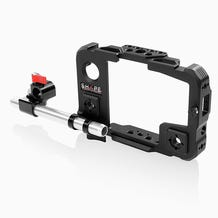 SHAPE Cage and 15 MM LWS Swivel Rod Clamp For The Atomos Shinobi Monitor
