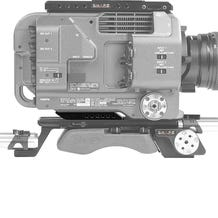 SHAPE Rear Insert Plate For The SONY PXW-FX9 Professional Camcorder