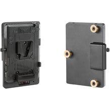 SHAPE V-Mount to Gold Mount Regulated Battery Converter