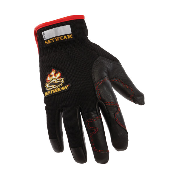 Setwear Black Hot Hands Gloves - Small