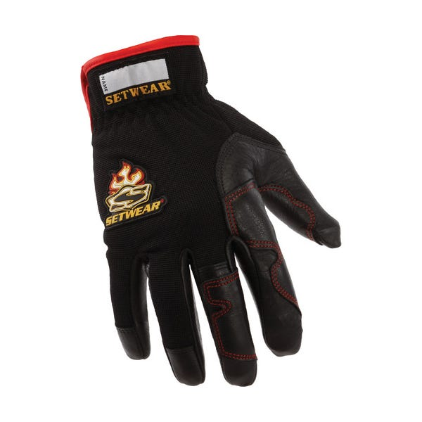 Setwear Black Hot Hands Gloves - Medium