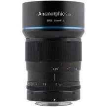 Sirui 50MM F1.8 Anamorphic Lens - Sony E Mount APS-C 1.33x Squeeze