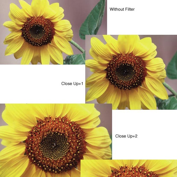 "Tiffen 4.5"" Round Close-up 1/2-3 Filters"