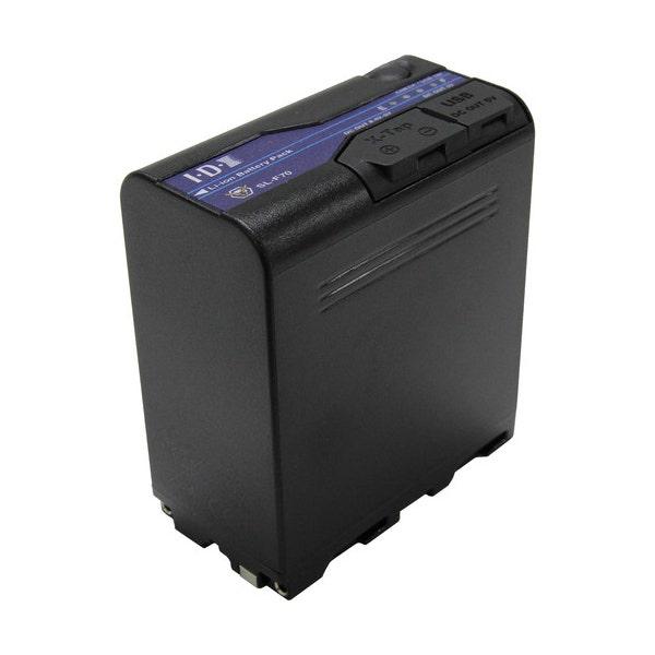 IDX SL-F70 L-Series Camera Battery