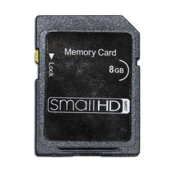 SmallHD 8GB SD Memory Card