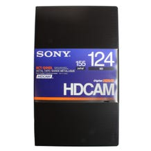 Sony Hi-Def BCT-124HDL. HDCAM 124 minute digital video tape cassette. (High Definition)