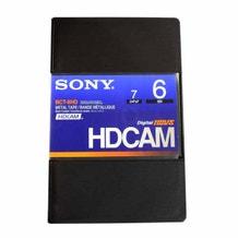 Sony HDCAM Video Cassette Tape 6min