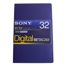 Sony SO-BCTD32 Digital Betacam Video Tape Cassette 32 minutes