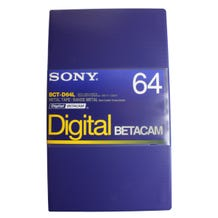 Sony Digital Betacam Format Tape 64min