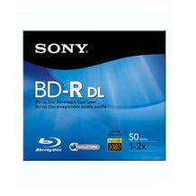 Sony Recordable 50GB 4X BD-R DL - 1 Pk