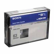 Sony Mini DV for HDV/DV Tape 63 Minutes