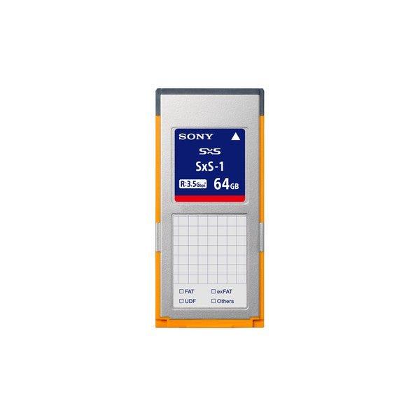 Sony 64GB SBS64G1C SxS-1 Series Memory Card