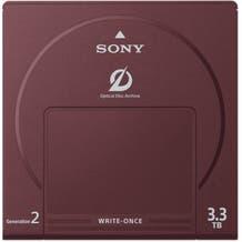 Sony 3.3TB Write-Once Optical Disc Cartridge
