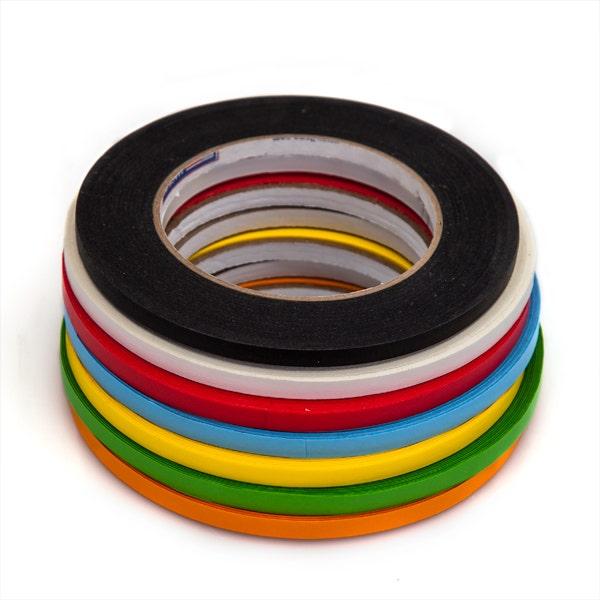 "Shurtape 1/4"" Artist's Paper Tape - 7 Colors - 1/4"" x 180 feet"