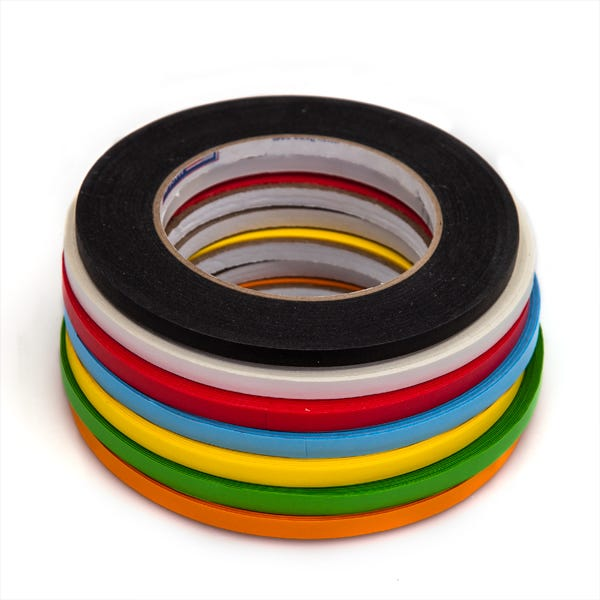 "Shurtape 1/4"" Artist's Paper Tape - 7 Colors - 1/4"" x 180 feet"