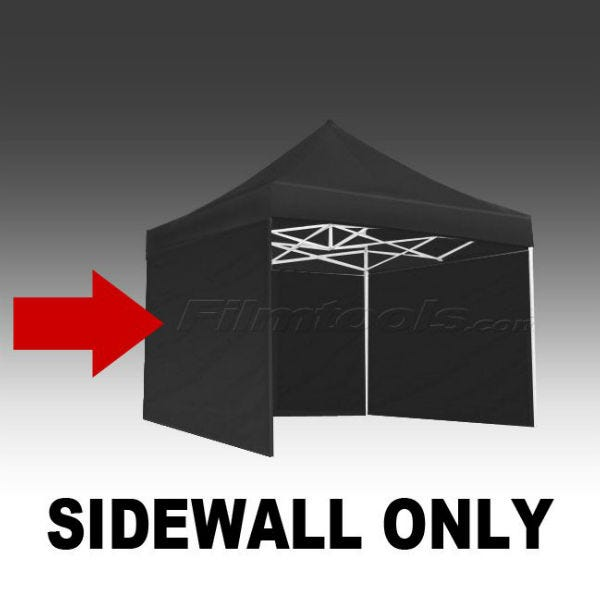 E-Z UP Eclipse&trade II Side Wall 10' Black