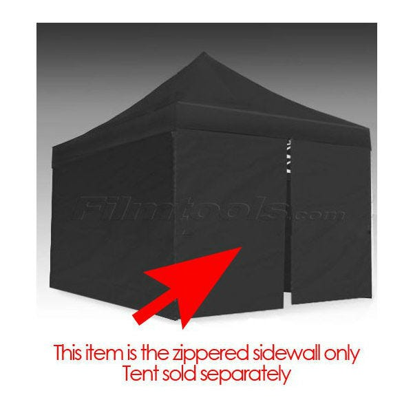 E-Z UP Eclipse&trade II Tent 15' Zipper Side/Front Wall Black
