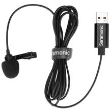 Saramonic SR-ULM10 Omnidirectional USB Lav w/ 2m Cable