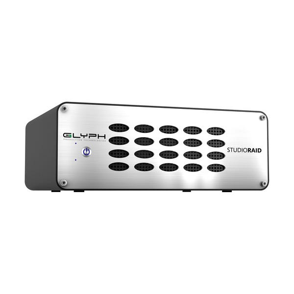 Glyph Technologies StudioRAID Thunderbolt 2 Enterprise Class 28TB 2-Bay Thunderbolt 2 RAID Array (2 x 14TB)