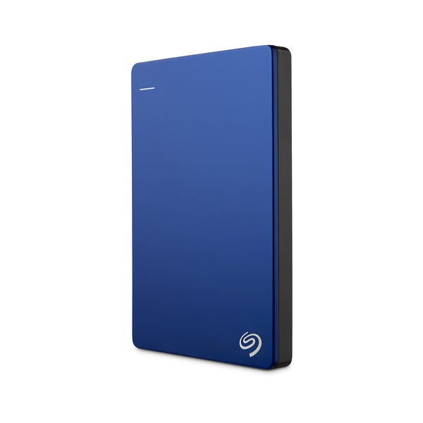 Seagate 2TB Backup Plus Slim Portable External Hard Drive - Blue