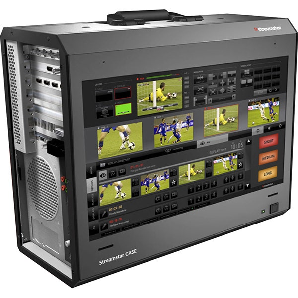 Streamstar Case 500 Portable Multi-Camera Live Production and Streaming Studio