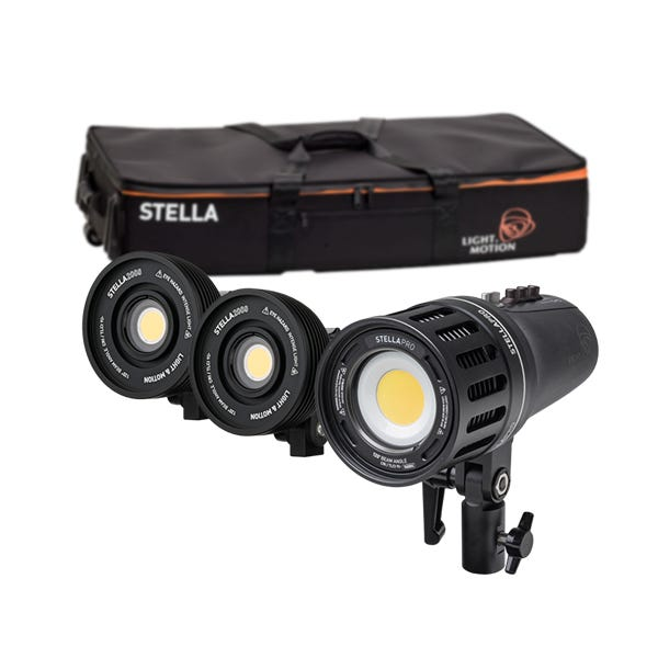 Light & Motion Stella Pro 225 RF Kit 5600K