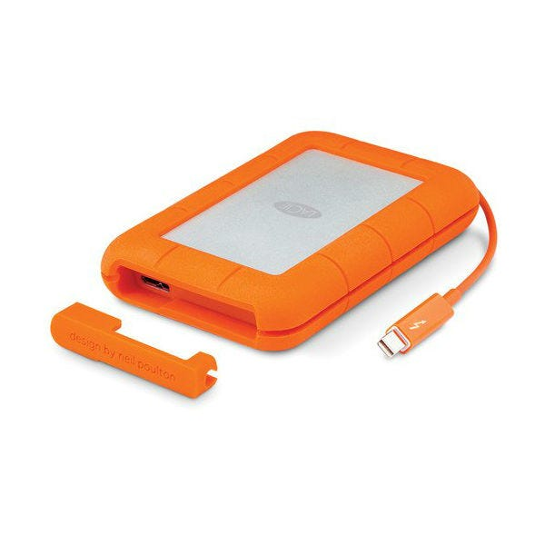 LaCie 1TB Rugged Thunderbolt USB 3.0 Mobile External Hard Drive
