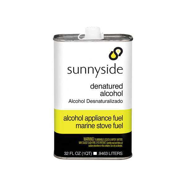 Sunnyside Denatured Alcohol Solvent - 1 Quart (Ground Only)