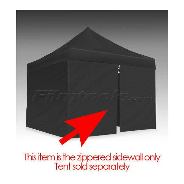 E-Z UP® Eclipse™ II Tent Zipper Side/Front Wall 10' Black