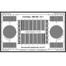 DSC Labs Maxi Multiburst Lens Chart SXWMB