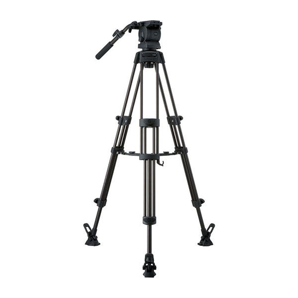 Libec Tripod With Pan and Tilt Fluid Head and Mid-Level Spreader