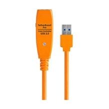 "Tether Tools 13.5"" TetherBoost Pro USB 3.0 Core Controller w/ UK Plug - Orange"