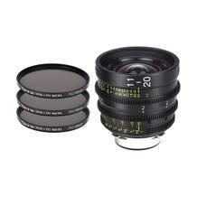 Tokina Cinema ATX 11-20mm T2.9 Zoom Lens & 3 x PRO IRND Filter Kit (PL Mount)