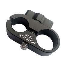 """Teradek RT Receiver 19/15mm Rod Clamp with 1/4""""-20 Mount"""