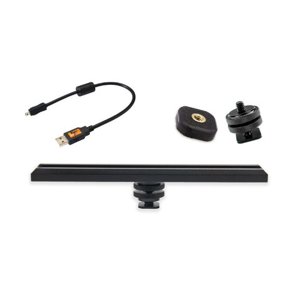 Tether Tools CamRanger Camera Mounting Kit with 8-Pin USB 2.0 Cable - Black