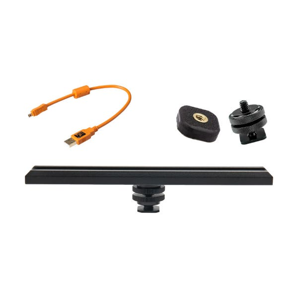 Tether Tools CamRanger Camera Mounting Kit with 8-Pin USB 2.0 Cable - Orange
