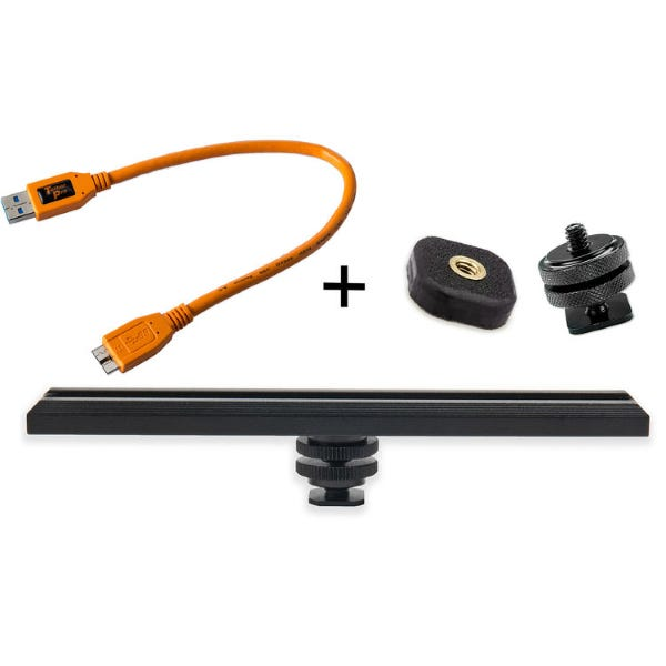Tether Tools CamRanger Camera Mounting Kit with 5-Pin USB 3.0 Cable - Orange